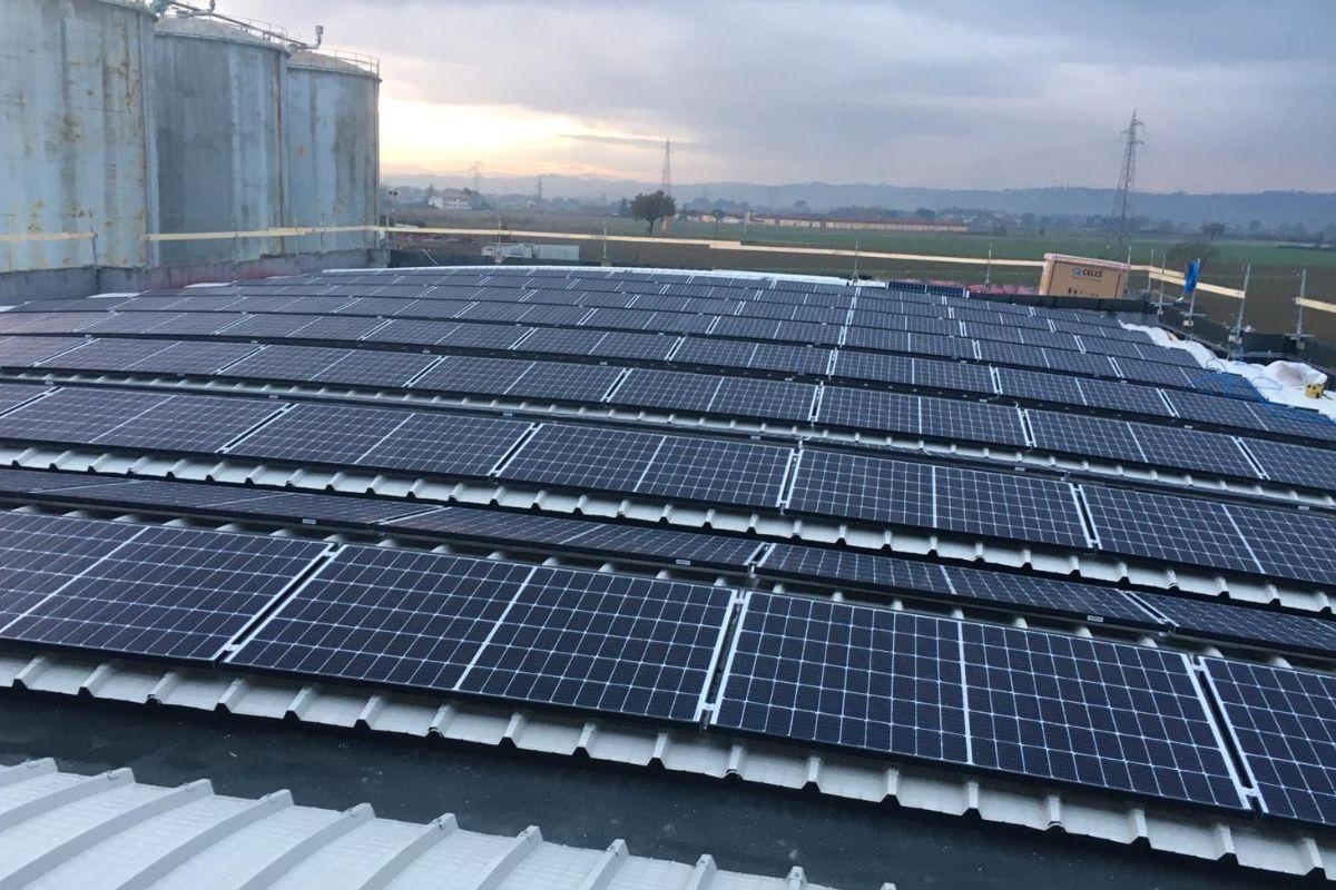 impianto fotovoltaico per industrie